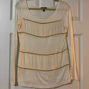 Bebe Gold Chain Top